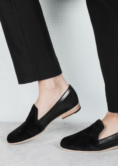Wave-cut ballerina flats | Wave-cut ballerina flats | & Other Stories shoes, minimal, minimalist, minimalism, fashion, footwear