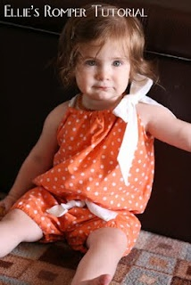 Cute for people with kiddos :)  Pillowcase Romper Tutorial