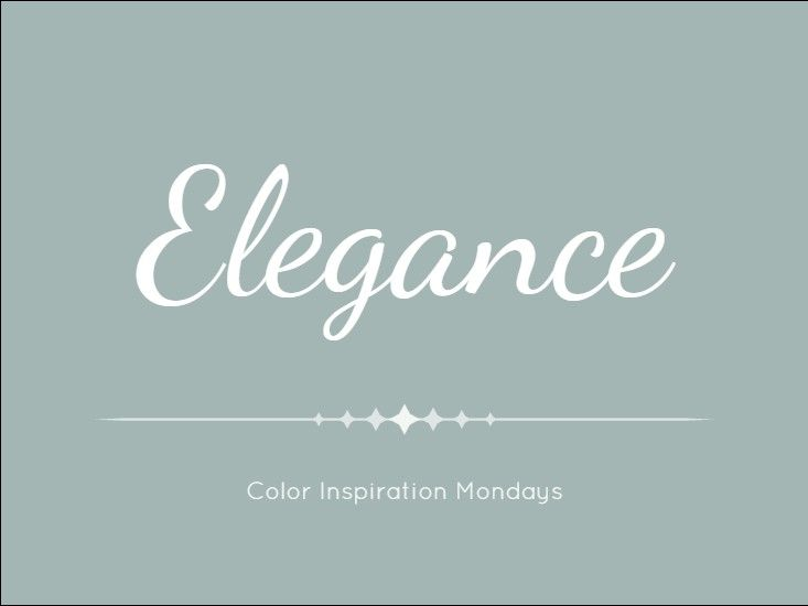 This week, we're featuring this graceful, chic color, Elegance! Click here to see what your next project could look like in Elegance.