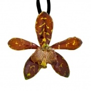 Brown-Tiger Cat Necklace $35