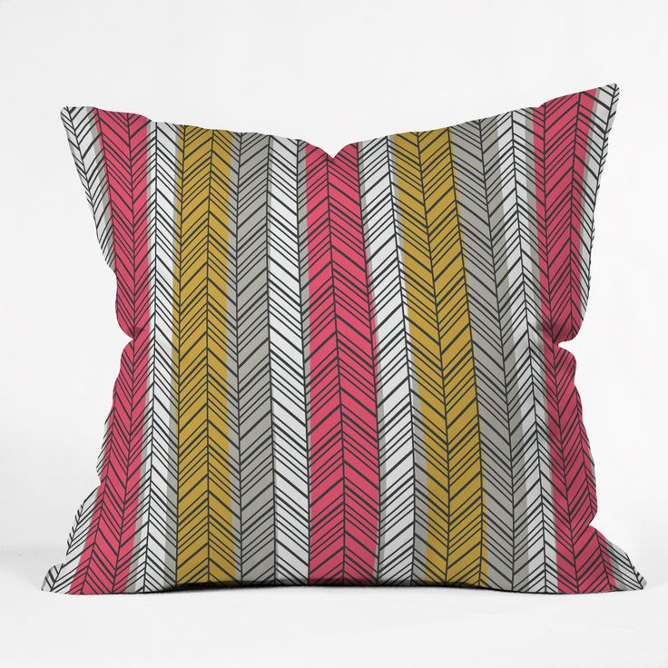 Andrea Victoria Aztec Stripe Outdoor Throw Pillow | DENY Designs Home Accessories