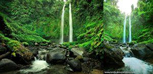 Pesona Air Terjun Kembar, Tiu Teja Lombok
