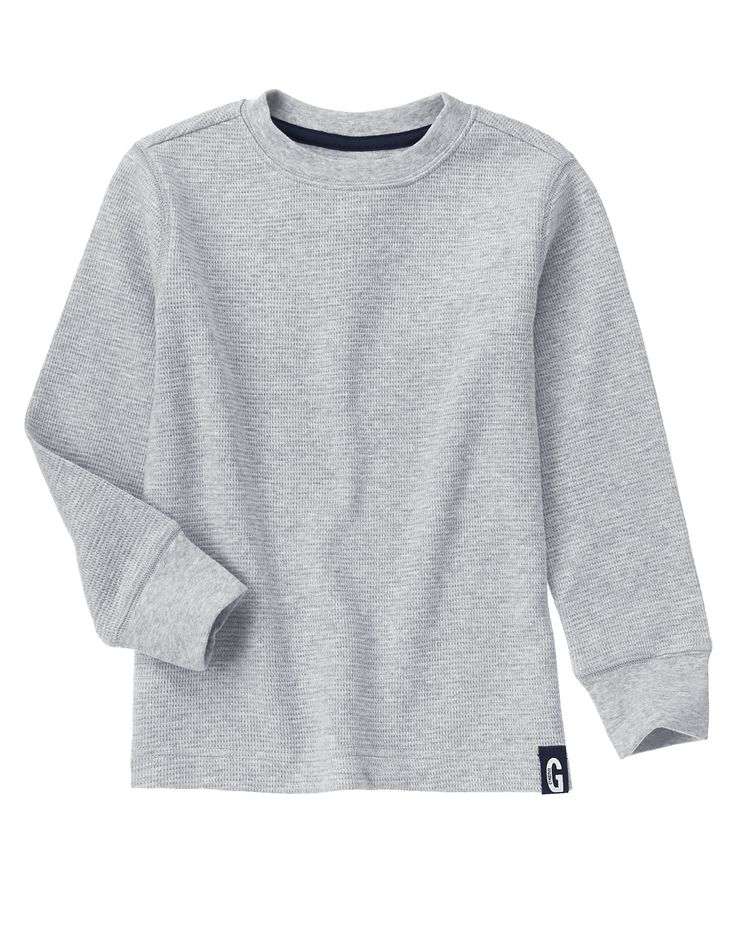 Waffle Knit Thermal Tee