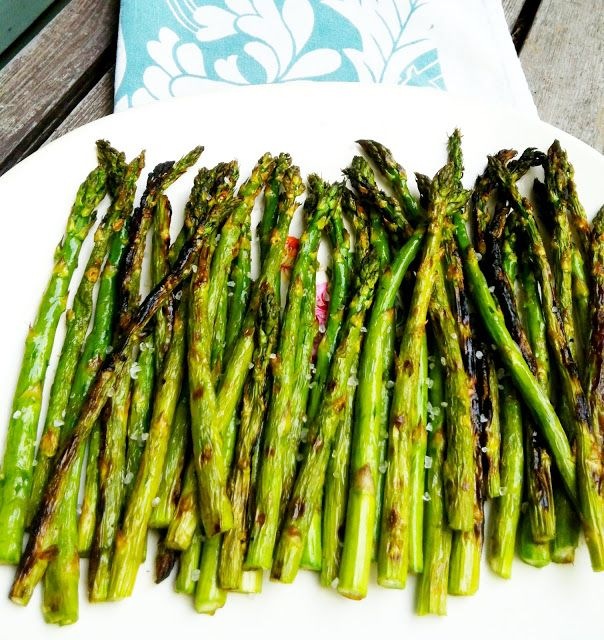 Blooming on Bainbridge: How to Grill Asparagus
