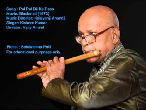 Pal Pal Dil Ke Paas(Kishore Kumar) Instrumental Cover on Flute by Balakr...