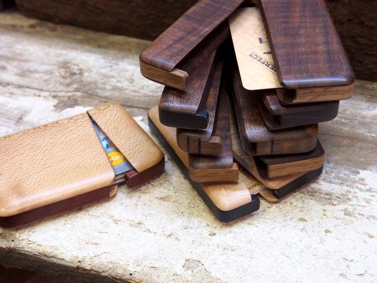 A personal favorite from my Etsy shop https://www.etsy.com/listing/249826301/walnut-wood-wallet-fine-woodworkgreat
