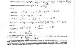 Solving Exponential And Logarithmic Functions Worksheet