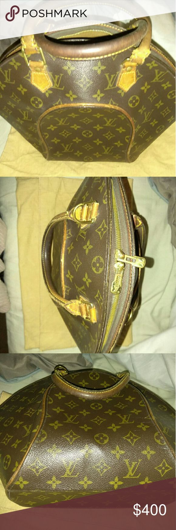 Louis Vuitton Eclipse medium Vintage condition. Minor stains, awesome buy! Louis Vuitton Bags Satchels