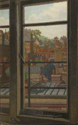 Awesome Rooftops, London By Charles Ginner (British. Find This Pin And More On Windows  And Doors ...