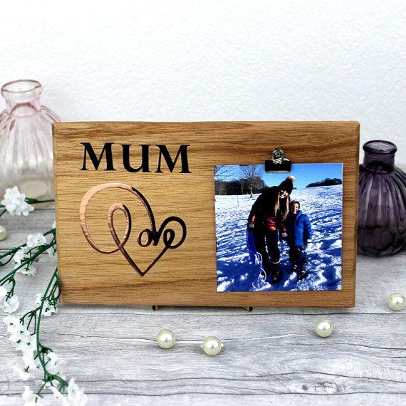 Mum Gift Frame - Mom Gift Frame - Mothers Day Card Mummy - Mothers Day Frame Button - Mum Card Personalised - Mom Gift- mothers day frame    £12.99+
