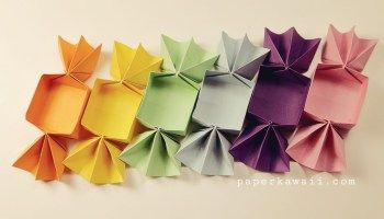 Sweet Origami Candy Box - Video Tutorial