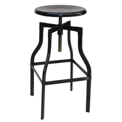 CLEARANCE: Industry Bar Stool Black Cafe ideas $75