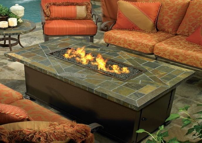 Best 25 Fire Pit Coffee Table Ideas On Pinterest