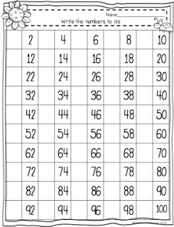 math worksheet : best 25 counting to 100 ideas on pinterest  100 games 100 free  : Counting To 100 Worksheet