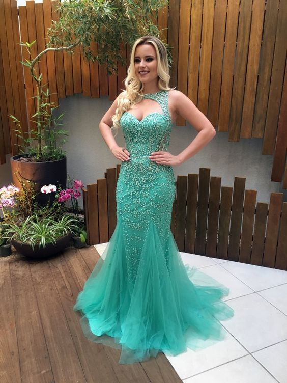 Charming Prom Dress,Mermaid Prom Dress,Long Prom Dresses,Formal Evening