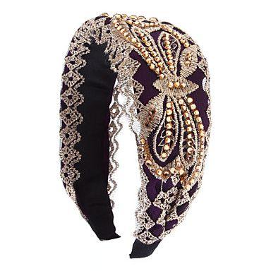 Mode Paars / Donker Groen Crystal hoofdbanden voor vrouwen – EUR € 4.59