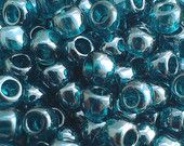 Toho Seed Beads 6/0 Transparent Lustered Teal (108BD) 5g/10g/20g/30g