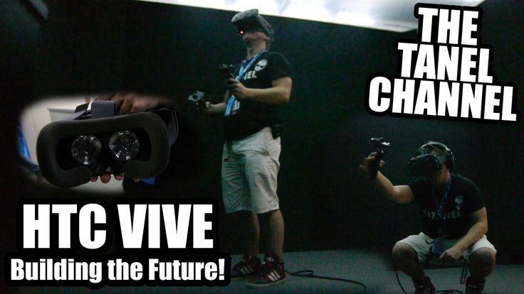 Ich teste Steam VR die HTC VIVE auf der Gamescom 2015 (1080p) HD! #vr #virtualreality #oculus #oculusrift #gearvr #htcvivve #projektmorpheus #cardboard #video #videos