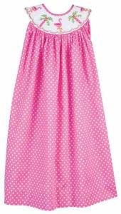 little girls in smocked dresses...