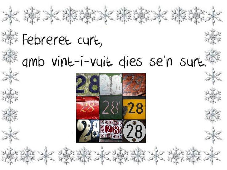 Fent i desfent: DITES DE FEBRER