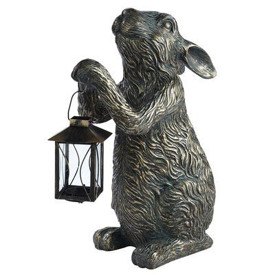 Bunny Tealight Lantern Outdoor Decor Pinterest L