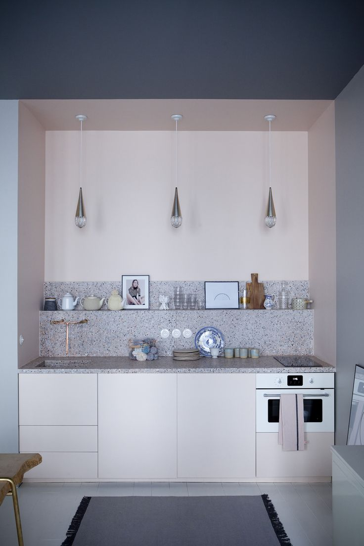 Modern Pink Kitchen Design That Will Surprise You With Itu0027s Beauty   Page 2  ...