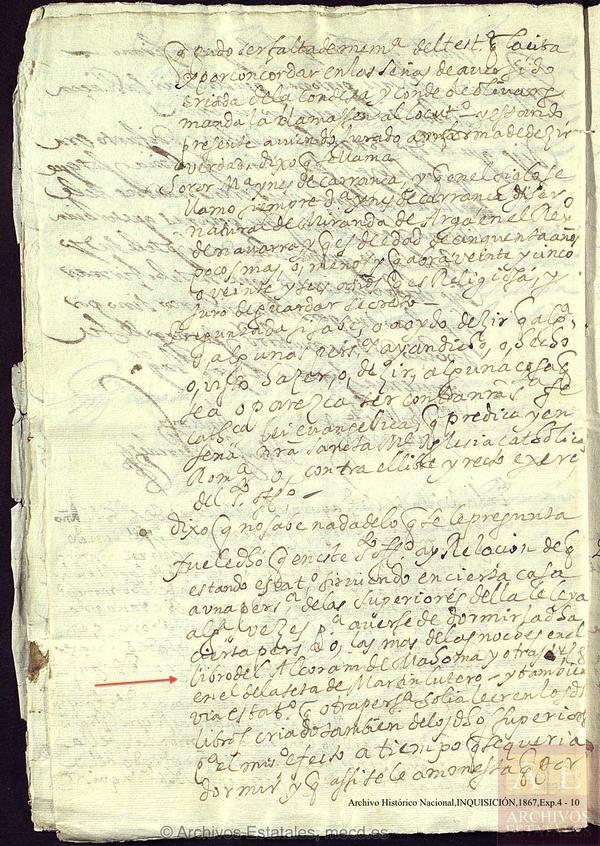 Proceso de fe del Conde-Duque de Olivares [La sospecha estaba en la lectura del Corán, antes de dormir