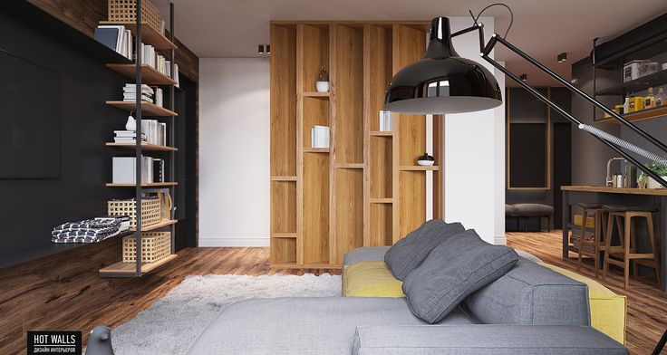 80 sq meters apartment on Behance