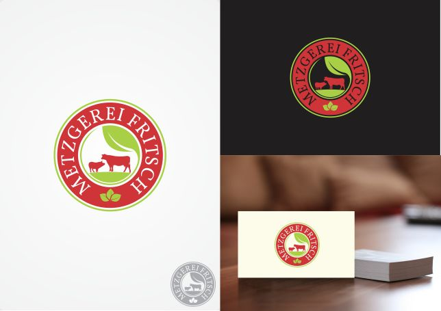 "Create a new logo for the ""Metzgerei Fritsch"" (butchery) and their Online Shop! by Brainstorming_day"
