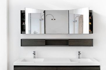 61 best bad spiegelschrank spiegel images on pinterest - Spiegelschrank bad weiay ...