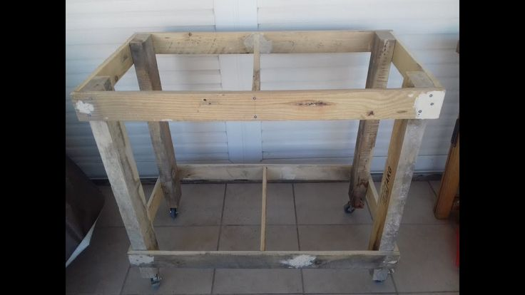 small  workbench (part 1 the frame)