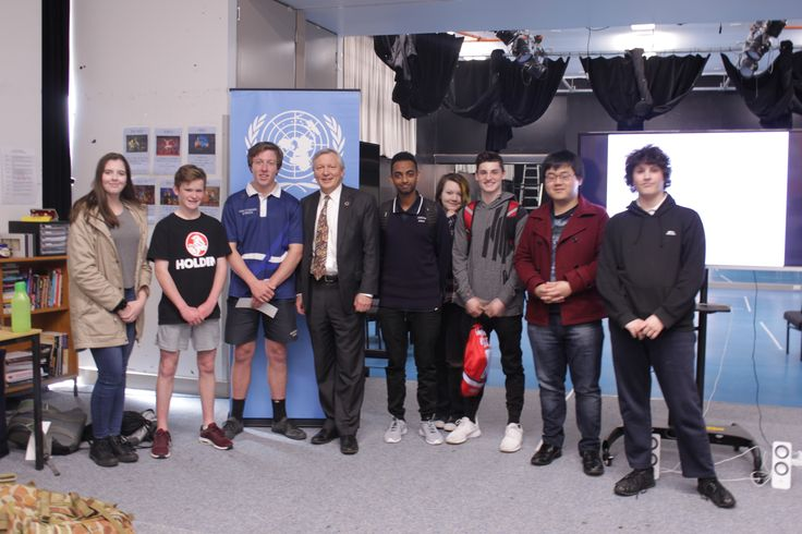 Gold Creek High School hosted us for a great day during which we talked about the importance of young people on the global stage and with their efforts we can rise to the challenge of meeting the goals of the Sustainable Development Agenda.