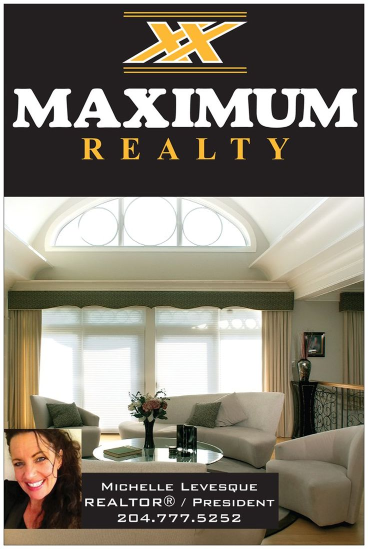 Always driven to get the home you deserve, call me 204.777.5252 for all your real estate needs or visit www.maximumhomes.ca
