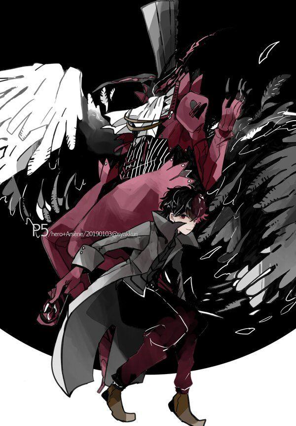 Arsene Ren Amamiya Akira Kurusu Joker With Images Persona 5