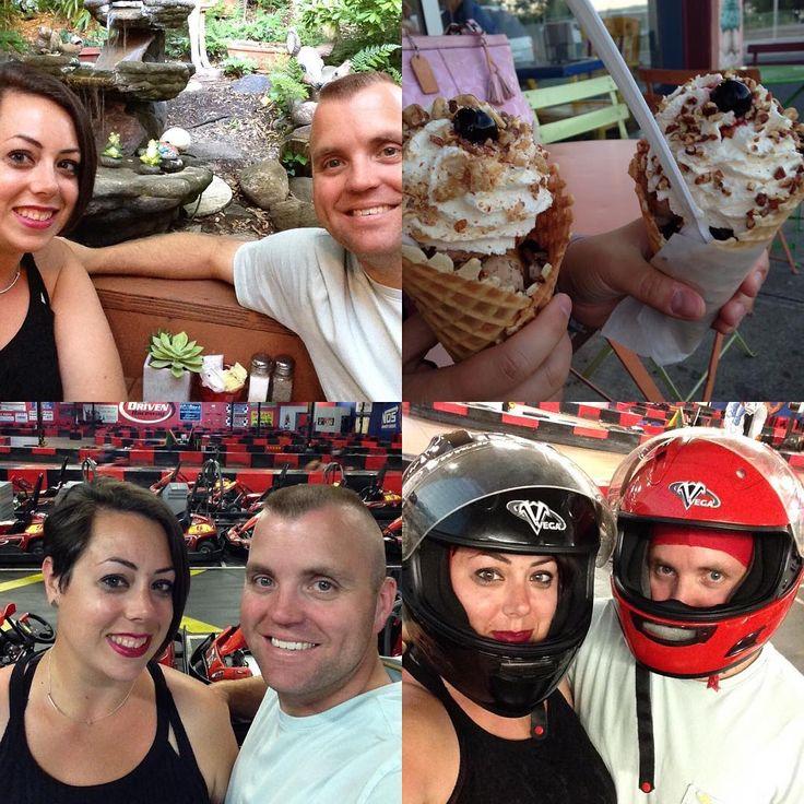いいね!19件、コメント2件 ― @glampinkのInstagramアカウント: 「Date night with my love 😍 delicious Mexican, ice cream from Screamin' Mimi's and Indoor Go Karts 🏎…」