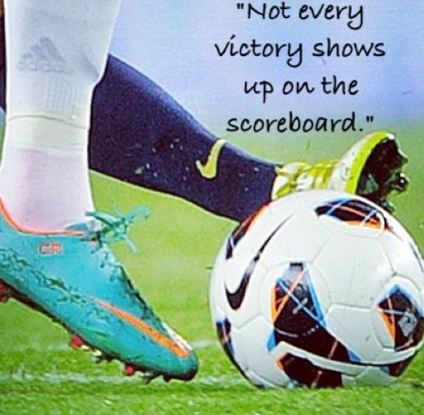 Soccer is not only a beautiful game...it is filed with beautiful moments. Moments of greatness and moments that aren't always seen from the score of the game