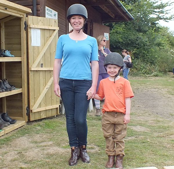 Horseriding - Sally's Riding School at Park Resorts Nodes Point, Isle of Wight