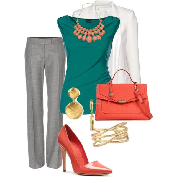business outfit i love all the colors amp how they match