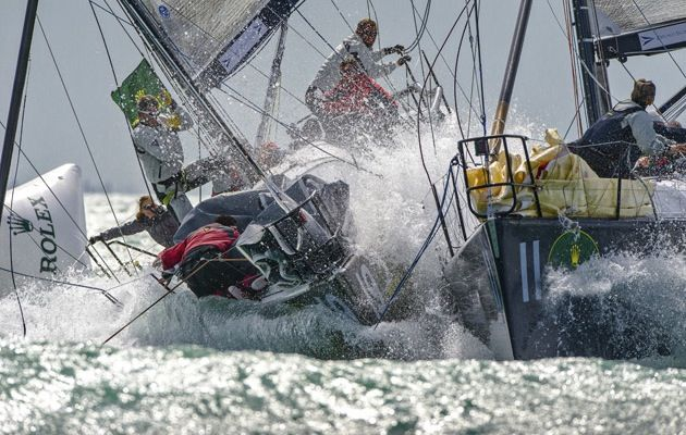 Spinning out to leeward or what is known as a crash gybe or Chinese gybe can be avoided. World champion TP52 sailor Tim Powell offers his five top tips