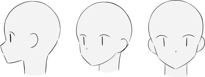 初心者の なぜか上手く描けない を解決 頭の描き方テクニック編 いちあっぷ 描き方 りんかく描き方 イラストレータ