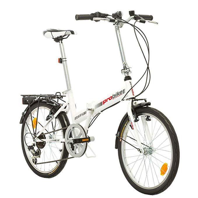 20 Zoll Probike Klapprad Mountain City Fahrrad Herren Damen Jugend Universalgrosse 6 Gang Shimano Kettenschaltung Damenfahrrad Fahrrad Citybike Damen