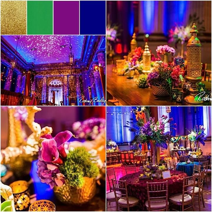 Colorfully Spectacular Washington DC Wedding at the Andrew Mellon Auditorium - MODwedding
