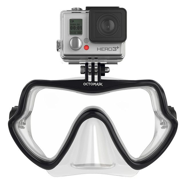 Fancy - Octomask Frameless GoPro Mount Diving Mask