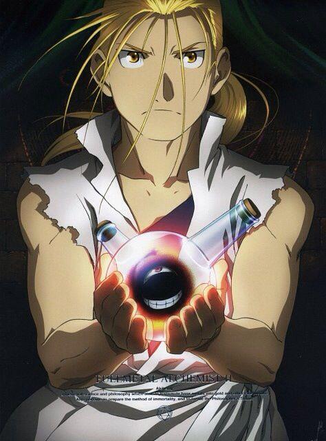 Van Hohenheim and Homunculus _Fullmetal Alchemist Brotherhood