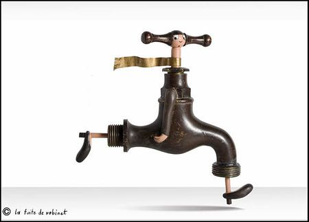 The Leaking Tap by Gilbert Legrand.                   Gloucestershire Resource Centre http://www.grcltd.org/scrapstore/