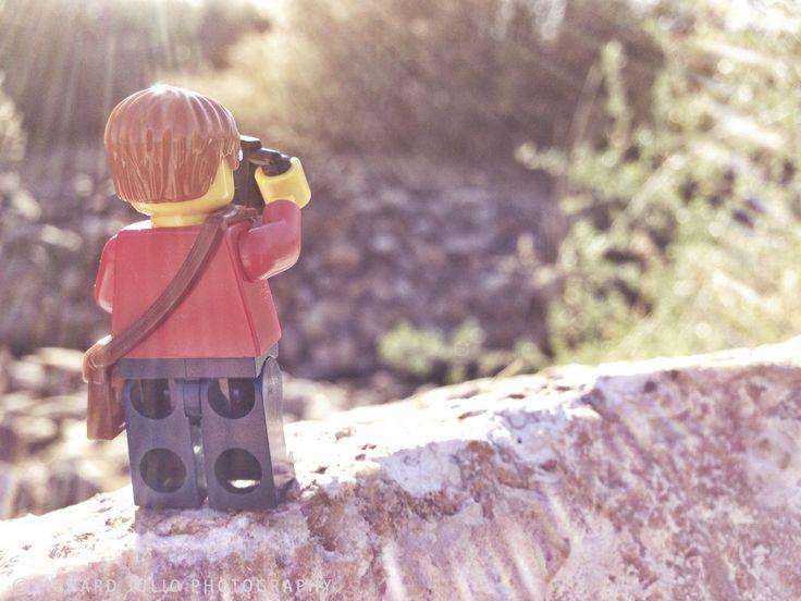 Bird Watcher - Lego macro photography series by Richard Julio Photography