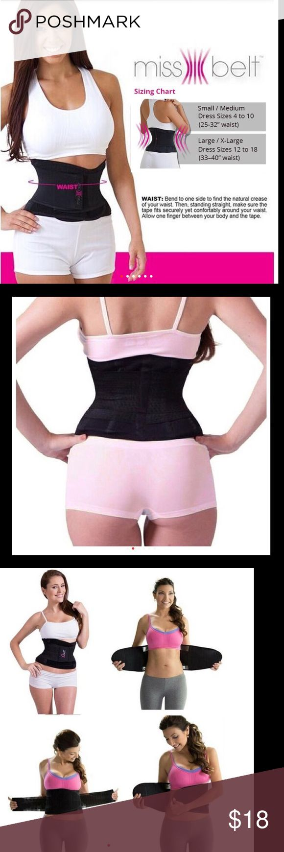 Miss Belt Training Belt Slim Waist Shapewear Women Miss Belt Training Belt Slim Waist Shapewear Women Tummy Tuck Belt Hourglass Waist Slim Strap Modeling Girdle Waist Trainer Accessories Belts