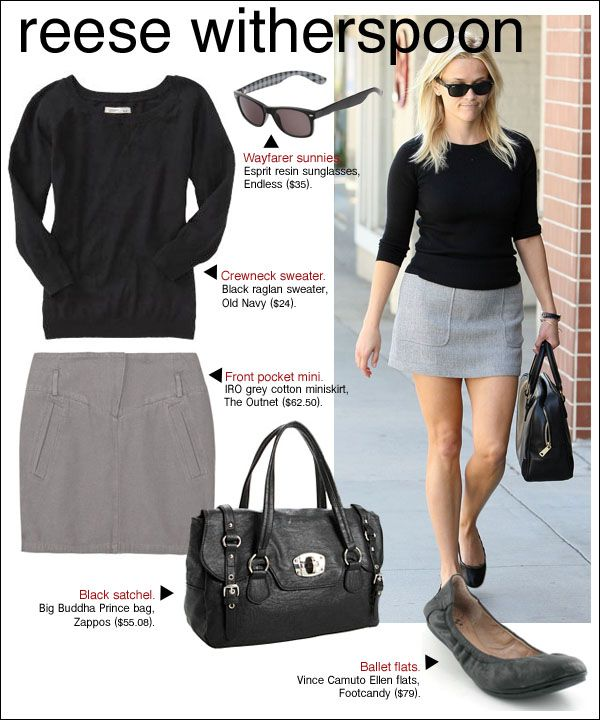 Reese Witherspoon - Cute and Classic Outfit.