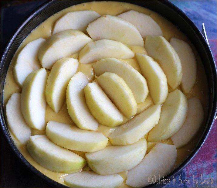 Torta di mele e crema pasticcera: la Torta Nua alle mele Dulcisss in forno by Leyla