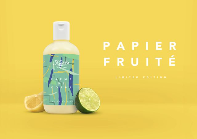 Kiehl's - Papier Fruité on Packaging of the World - Creative Package Design Gallery